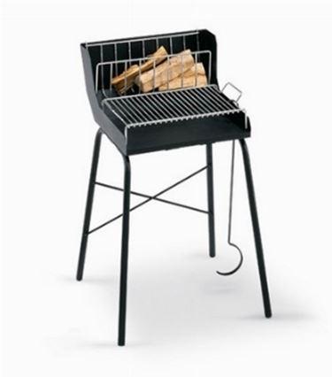 barbecue a legna e carbone