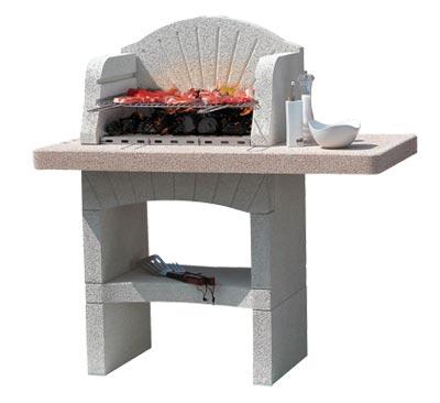 barbecue muratura usato