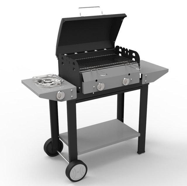 barbecue pietra lavica metano