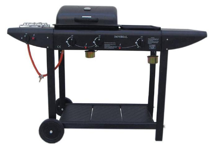 Barbecue gas pietra lavica professionale tra i più venduti su Amazon